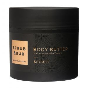 Scrub & Rub - Secret - Body Butter - 200 ml