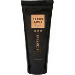 Scrub & Rub - Secret - Body Lotion - 200 ml