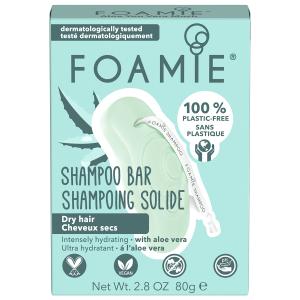 Foamie - Shampoo Bar - Aloe You Vera Much - 80 gr