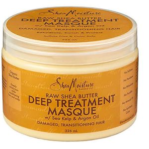 Shea Moisture - Raw Shea Butter Treatment Mask - 340 gr