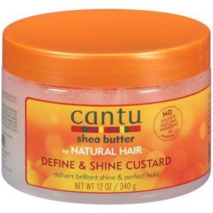Cantu - Natural Hair - Define & Shine Custard - 340 gr