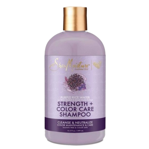 Shea Moisture - Strength & Color Care - Shampoo - 384 ml