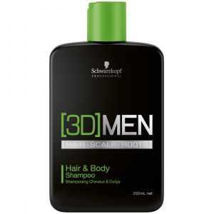 Schwarzkopf - 3D Men - Hair & Body Shampoo