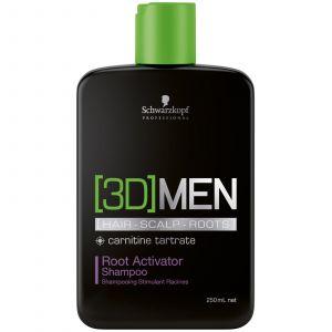 Schwarzkopf 3DMen Activating Shampoo