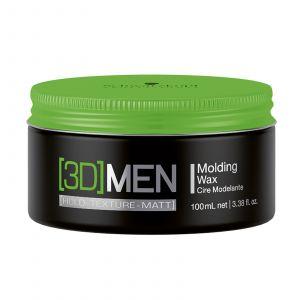 Schwarzkopf - 3D Men - Molding Wax - 100 ml