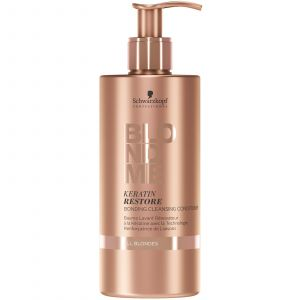 Schwarzkopf - Blond Me - All Blondes - Keratin Restore Bonding Cleansing Conditioner - 500 ml