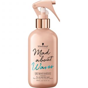 Schwarzkopf - Mad About Waves - Light Splash Conditioner - 250 ml