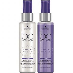 Schwarzkopf - BC Bonacure - Keratin Smooth Perfect - Duo Layers - 2x100 ml