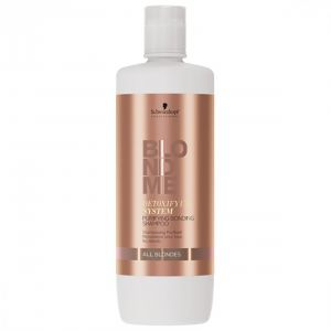 Schwarzkopf - Blond Me -Detoxifying - Purifying Shampoo - All Blondes - 1000 ml