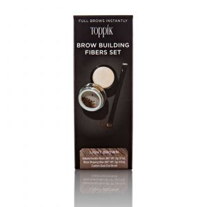 Toppik - Brow Building Fibers Set - Light Brown