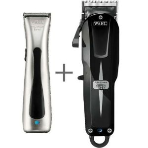 Wahl - Cordless Combo - Super Taper Tonduese + Prolithium Beret Trimmer + Soft Touch Koffer