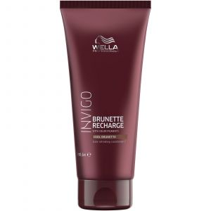 Wella - Invigo - Brunette Recharge - Cool Brunette Conditioner - 200 ml