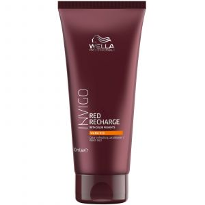 Wella - Invigo - Red Recharge - Warm Red Conditioner - 200 ml