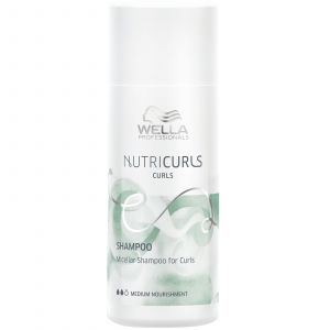 Wella - Nutricurls - Micellar Shampoo for Curls - 50 ml (Mini Reisverpakking)