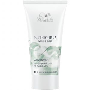 Wella - Nutricurls - Detangling Conditioner for Waves & Curls - 30 ml (Mini Reisverpakking)