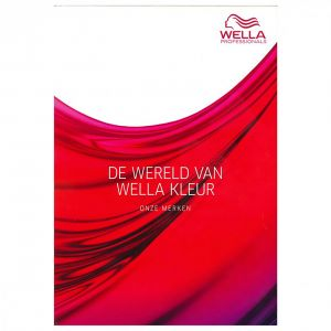 Wella - Kleurenkaart / Kleurboek 2018