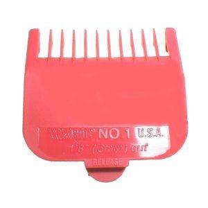 Wahl - Opzetkam - Type 1 - Plastic Gekleurd - Nr. 1 - 3 mm