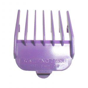 Wahl - Opzetkam - Type 1 - Plastic Gekleurd - Nr. 2 - 6 mm