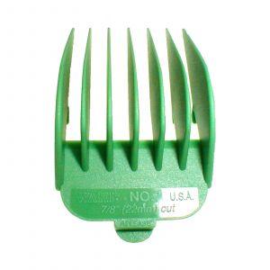 Wahl - Opzetkam - Type 1 - Plastic Gekleurd - Nr. 7 - 22 mm