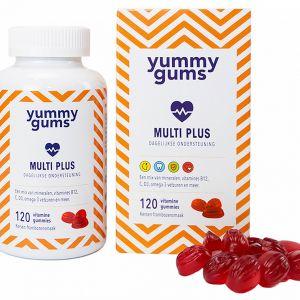 Yummygums - Multi+ Gummies - 120 stuks