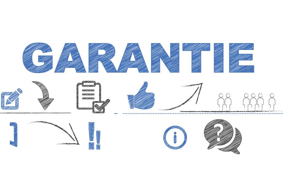 Garantie op je ISO Stijltang, Krultang of Föhn