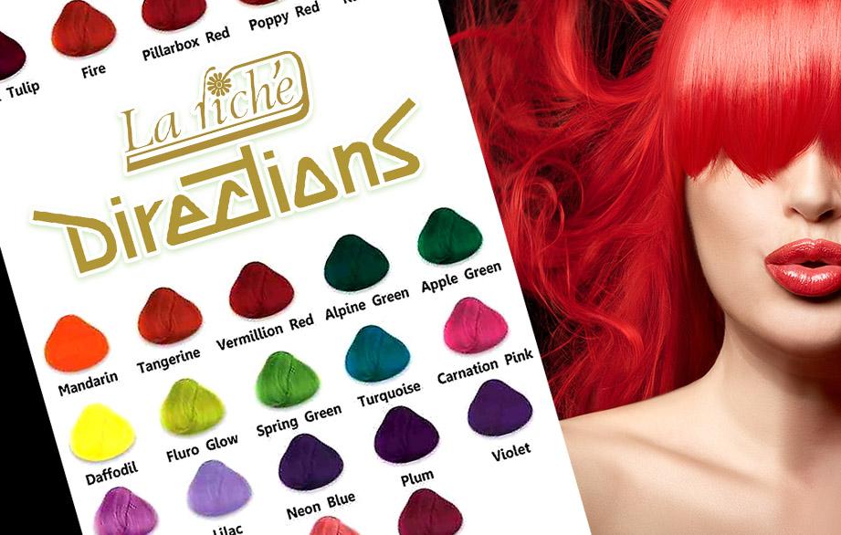 La Riché Directions: Eenvoudig en verantwoord je haar verven in felle kleuren!