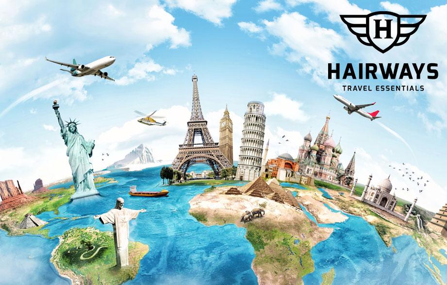 Mini Reisverpakkingen van Hairways: Perfect voor in je handbagage!