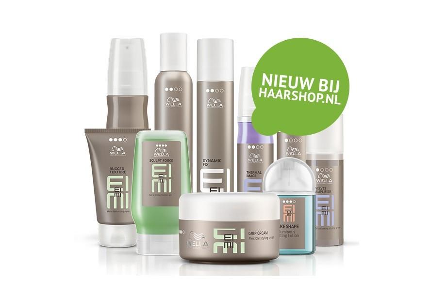 Vanaf 2 juli bij Haarshop.nl: Wella EIMI Styling