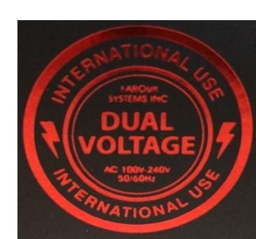 Dual Voltage Stijltang