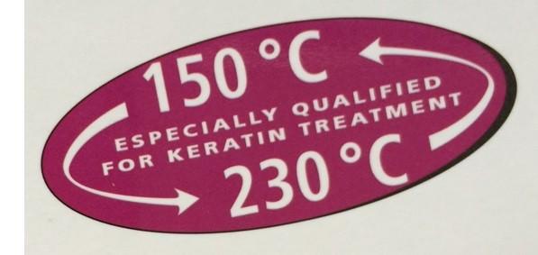 Stijltang temperatuur