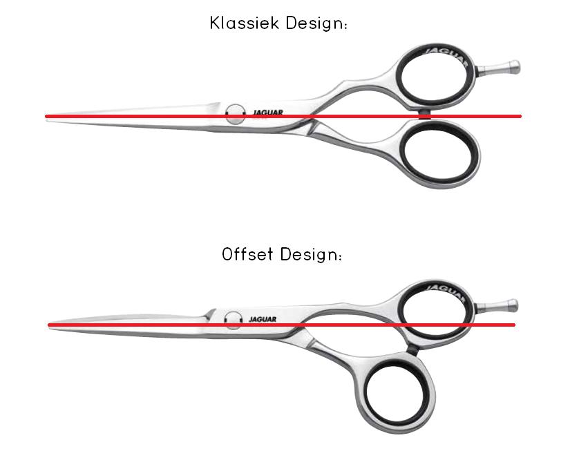 Klassiek Design versus Offset Design Kappersschaar