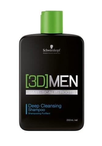 Bestel de Schwarzkopf - 3D Men - Deep Cleansing Shampoo