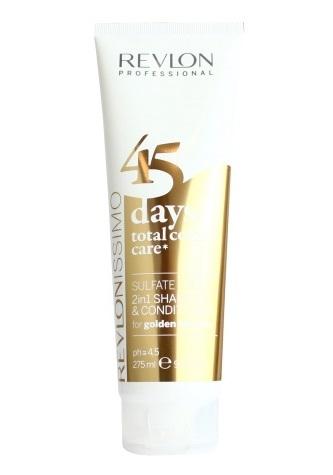 Bestel de Revlon - 45 Days Color - 2 in 1 Shampoo & Conditioner - Golden Blondes