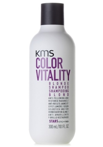Bestel de KMS Color Vitality Blonde Shampoo