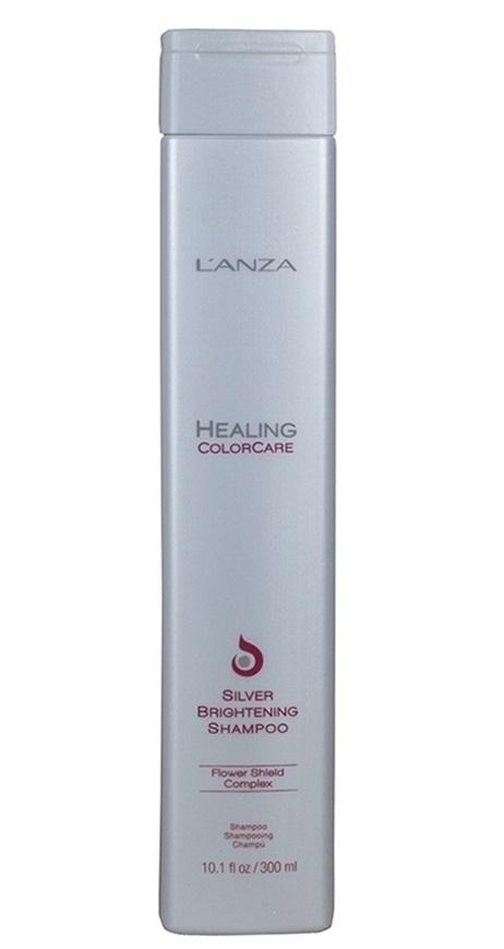 Keratine Shampoo: L'Anza Healing ColorCare Silver Brightening Shampoo