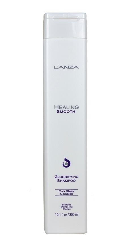 Keratine Shampoo: L'Anza Healing Smooth Glossifying Shampoo