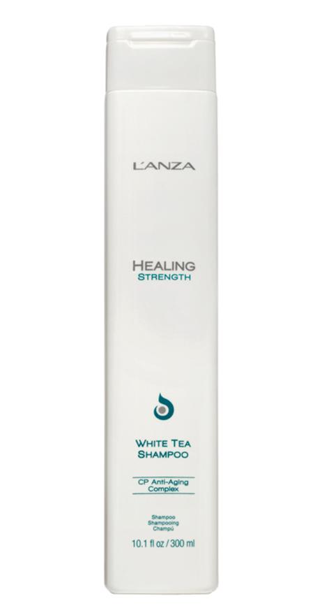 Keratine Shampoo: L'Anza Healing Strength White Tea Shampoo