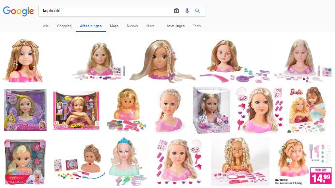 kappers pop speelgoed